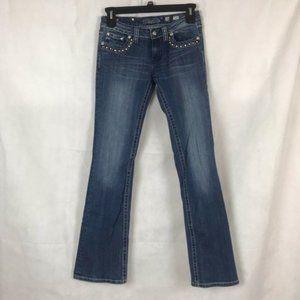 Miss Me Jeans Size 28 Boot JW5087B5
